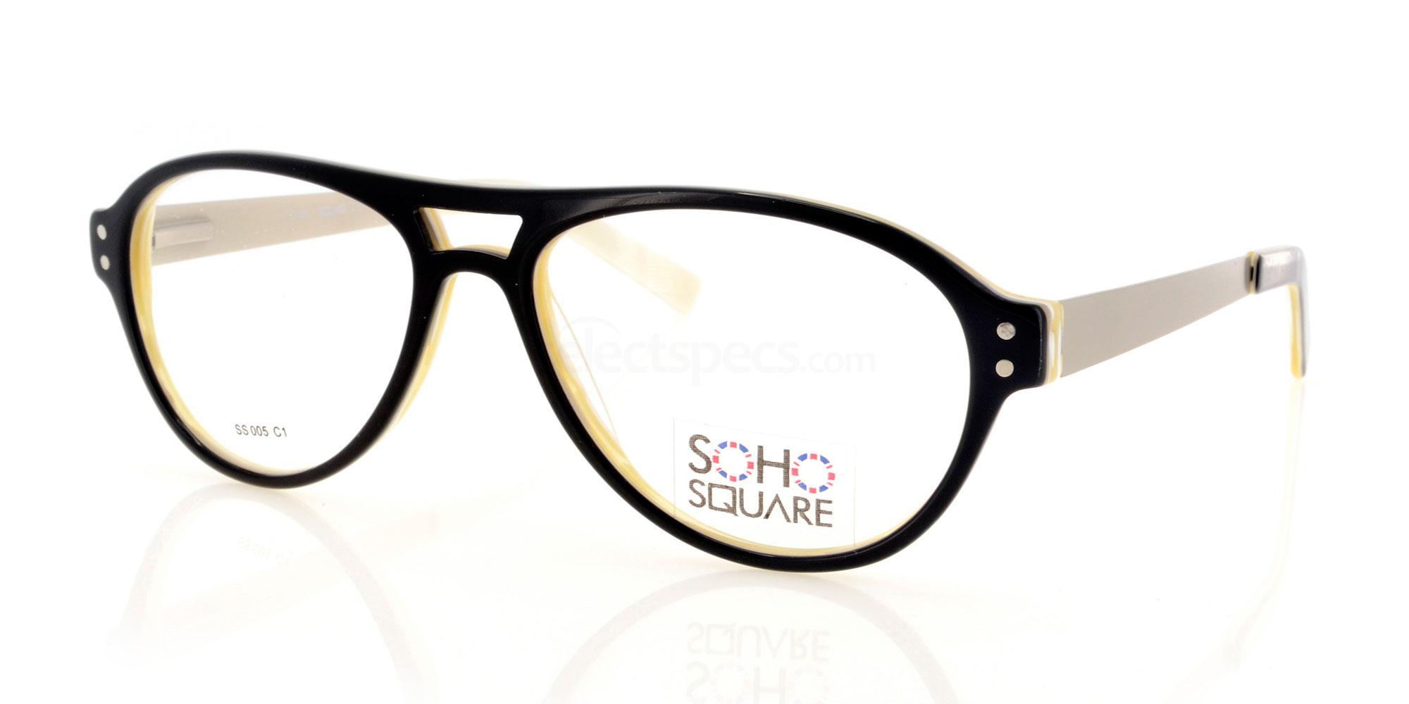 C1 SS 005 Glasses, Soho Square