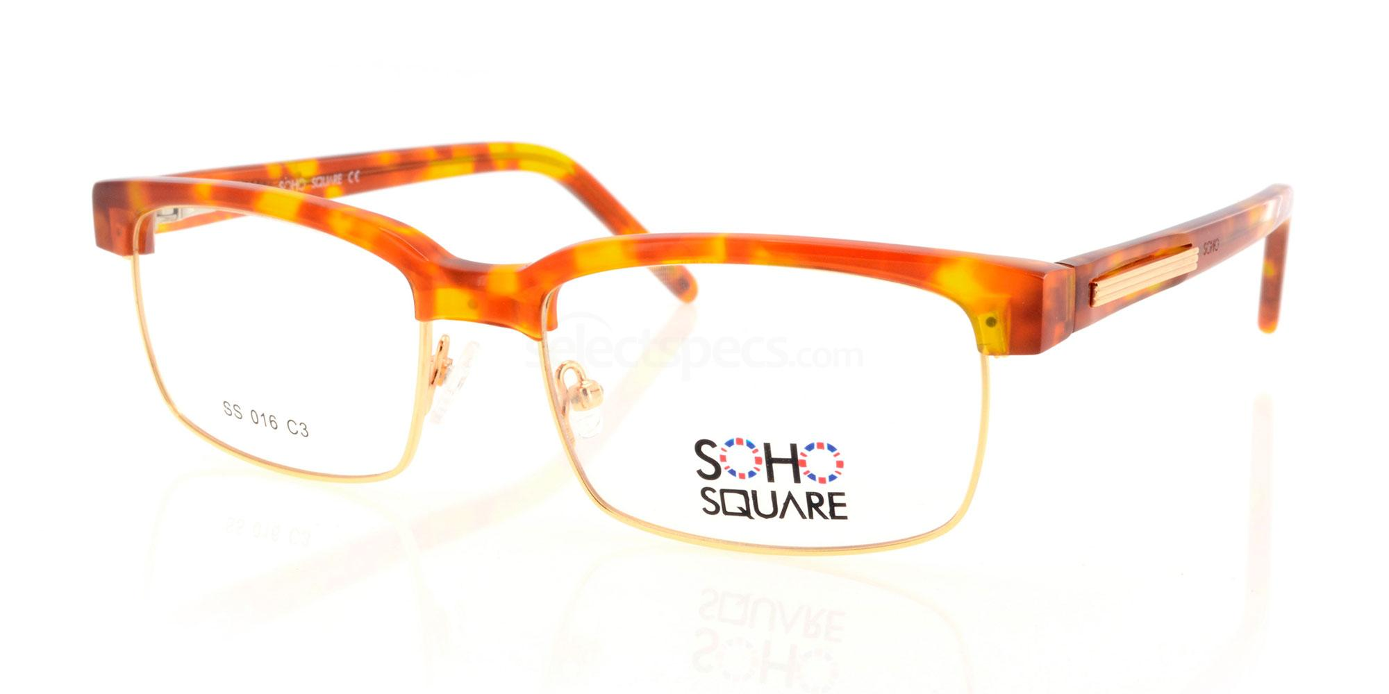 C3 SS 016 Glasses, Soho Square