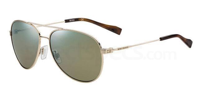 000 (3U) BO 0157/S Sunglasses, Boss Orange