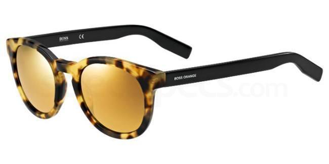 7G9  (4D) BO 0194/S Sunglasses, Boss Orange