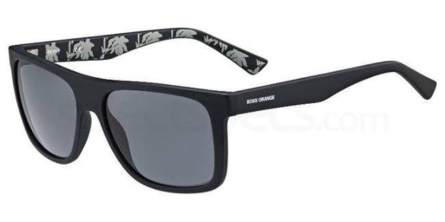 Q80  (BN) BO 0253/S Sunglasses, Boss Orange
