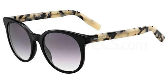 7KI  (9C) BO 0256/S Sunglasses, Boss Orange