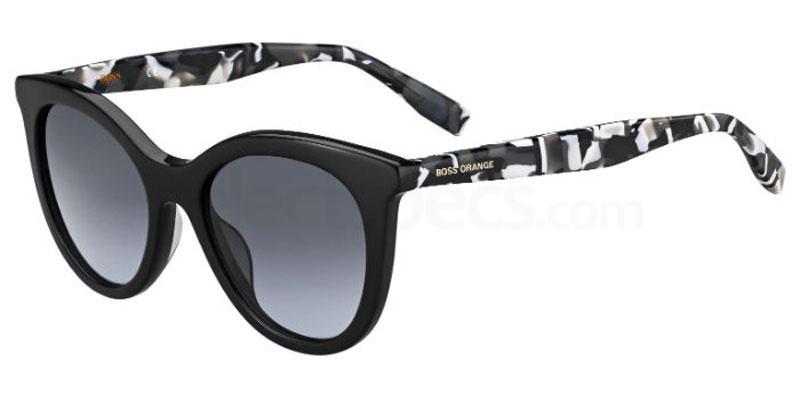 80S (9O) BO 0310/S Sunglasses, Boss Orange