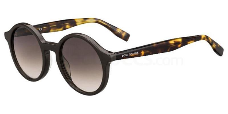 WR9 (HA) BO 0311/S Sunglasses, Boss Orange
