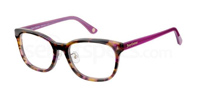 09O JU 165 Glasses, Juicy Couture