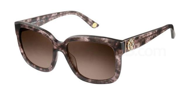 01K  (HA) JU 588/S Sunglasses, Juicy Couture