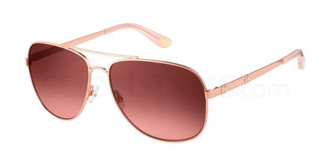 000  (M2) JU 589/S Sunglasses, Juicy Couture