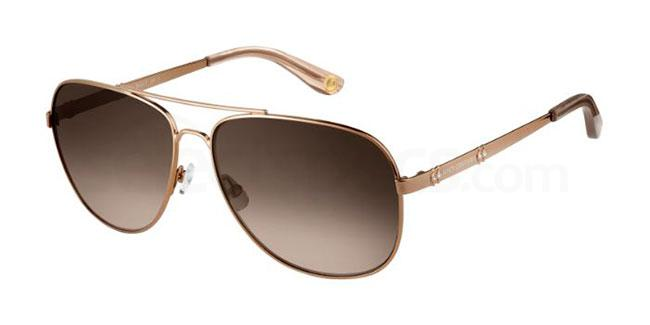 09Q  (HA) JU 589/S Sunglasses, Juicy Couture