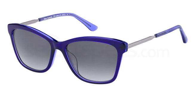 0T7 (9O) JU 604/S Sunglasses, Juicy Couture