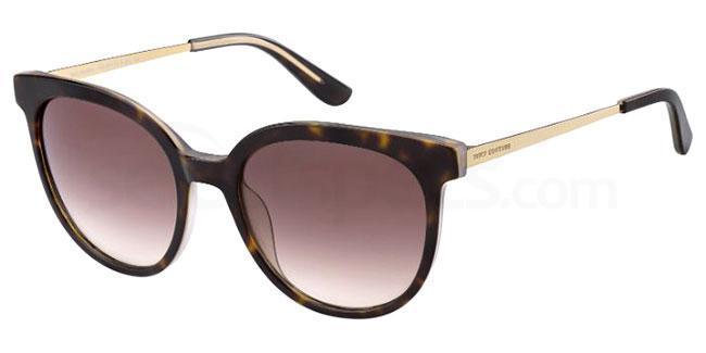 086 (HA) JU 610/G/S Sunglasses, Juicy Couture
