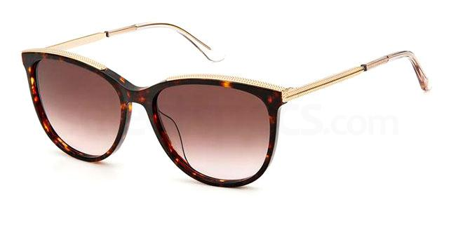 086  (HA) JU 615/S Sunglasses, Juicy Couture