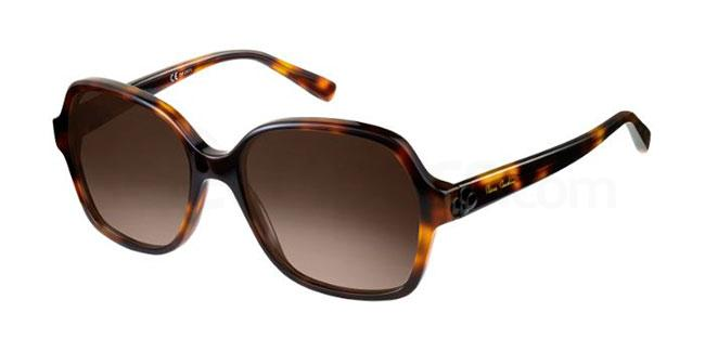 086  (HA) P.C. 8449/S Sunglasses, Pierre Cardin