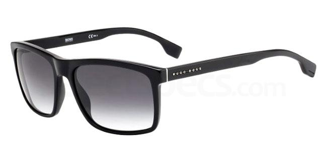 Men's Christmas Eyewear Gift Guide black sunglasses Hugo Boss