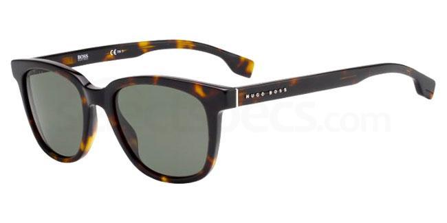 086 (QT) BOSS 1037/S Sunglasses, BOSS Hugo Boss