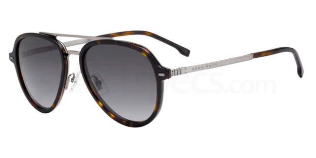 086 (9O) BOSS 1055/S Sunglasses, BOSS