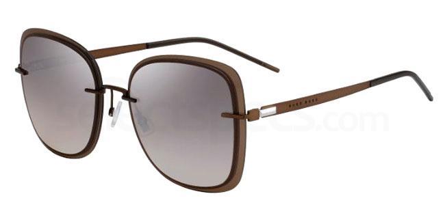 09Q (NQ) BOSS 1167/S Sunglasses, BOSS
