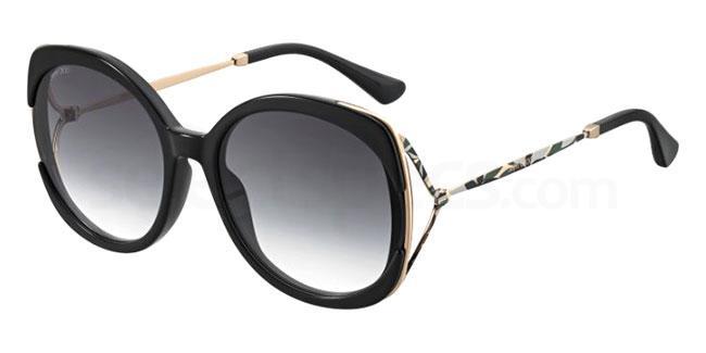 807 (9O) LILA/S Sunglasses, JIMMY CHOO