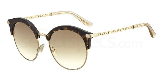 086 (HA) HALLY/S Sunglasses, JIMMY CHOO