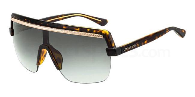 086 (9O) POSE/S Sunglasses, JIMMY CHOO