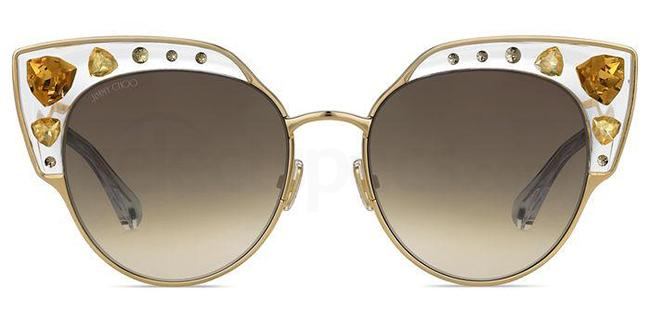 gold sunglasses trend ss19 womens accessories