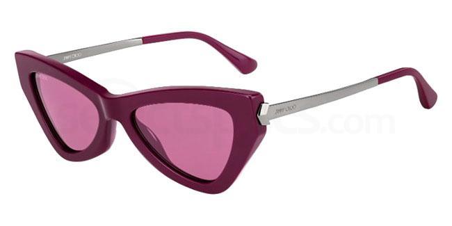 8CQ (U1) DONNA/S Sunglasses, JIMMY CHOO