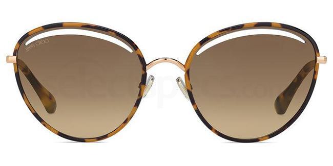 06J (HA) MALYA/S Sunglasses, JIMMY CHOO