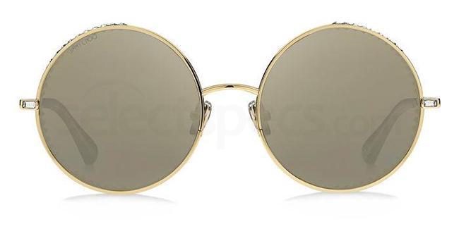 J5G (JO) GOLDY/S Sunglasses, JIMMY CHOO
