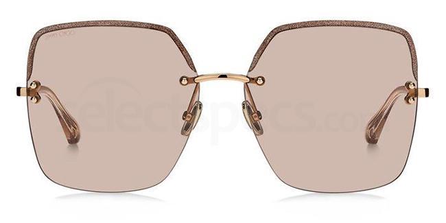 FWM (U1) TAVI/S Sunglasses, JIMMY CHOO