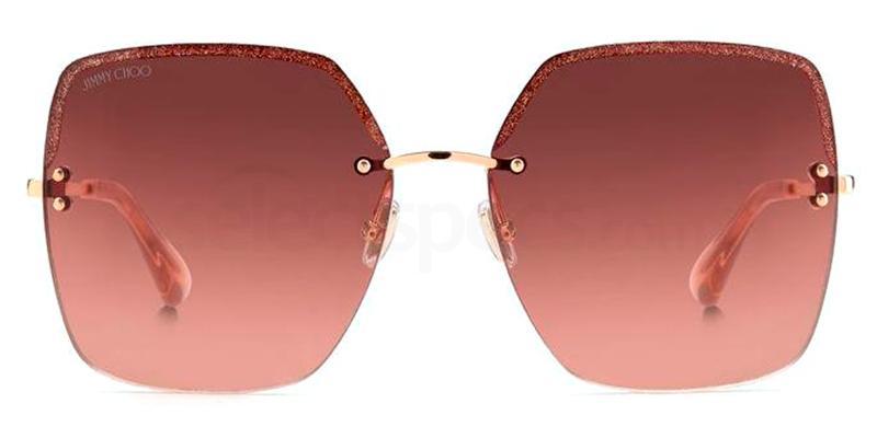 DDB (3X) TAVI/N/S Sunglasses, JIMMY CHOO