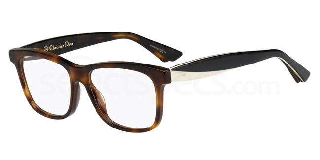 LWG CD3290 Glasses, Dior