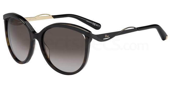 6NY (HA) DIORMETALEYES1 Sunglasses, Dior
