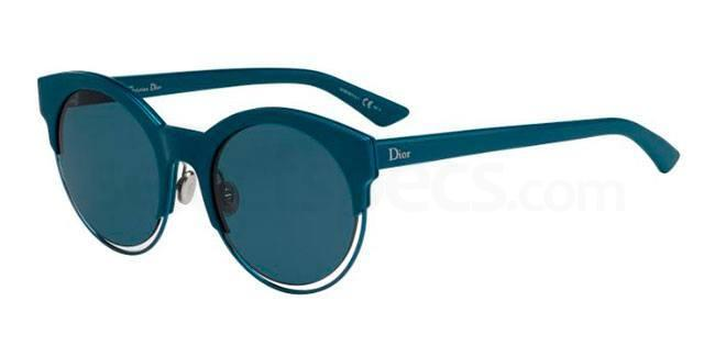 dark teal sunglasses dior aw16