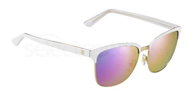 Gucci-White-Mirrored-Polarised-Designer-Sunglasses-at-SelectSpecs