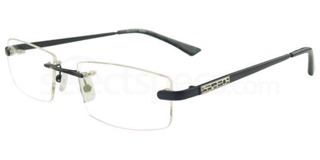 Black 86690 Glasses, Vista