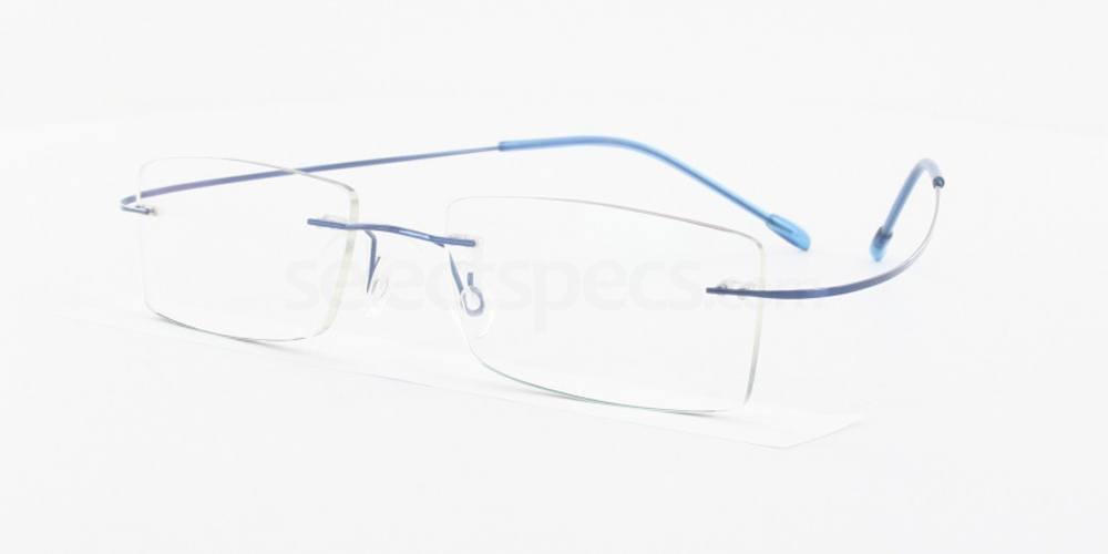 Blue 1102 Glasses, Vista