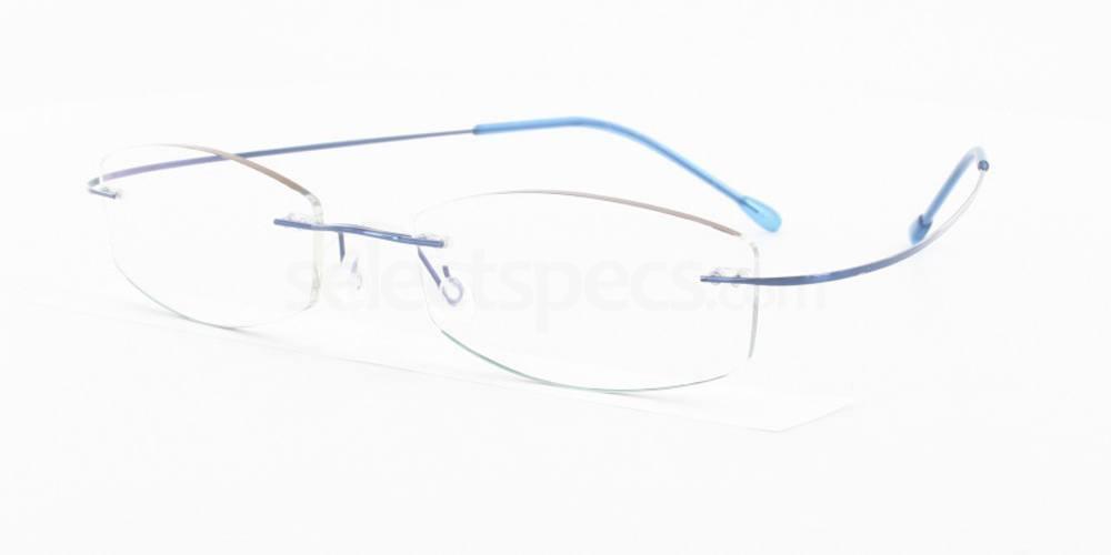 Blue 3829 Glasses, Vista