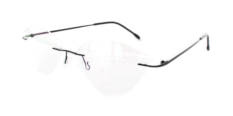 Black 8200 Glasses, Vista