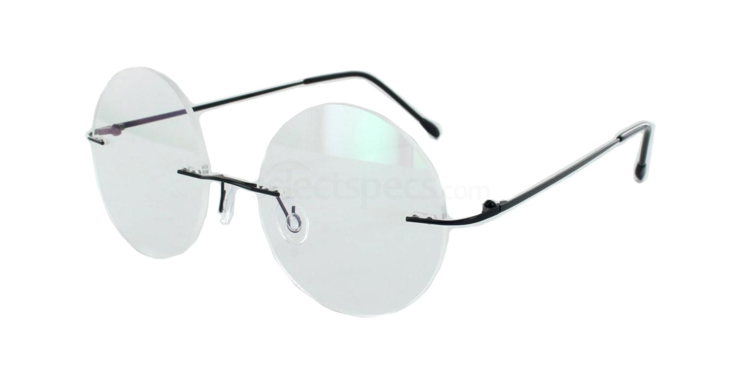 Black 8202 Glasses, Vista