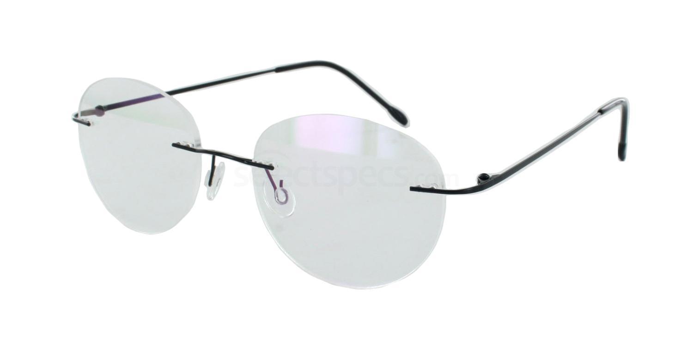 Black 8206 Glasses, Vista