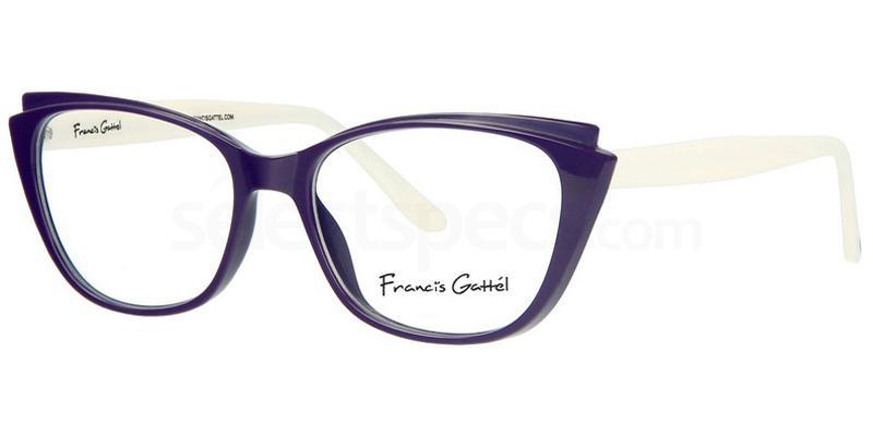 C2 FG5341 Glasses, Francis Gattel