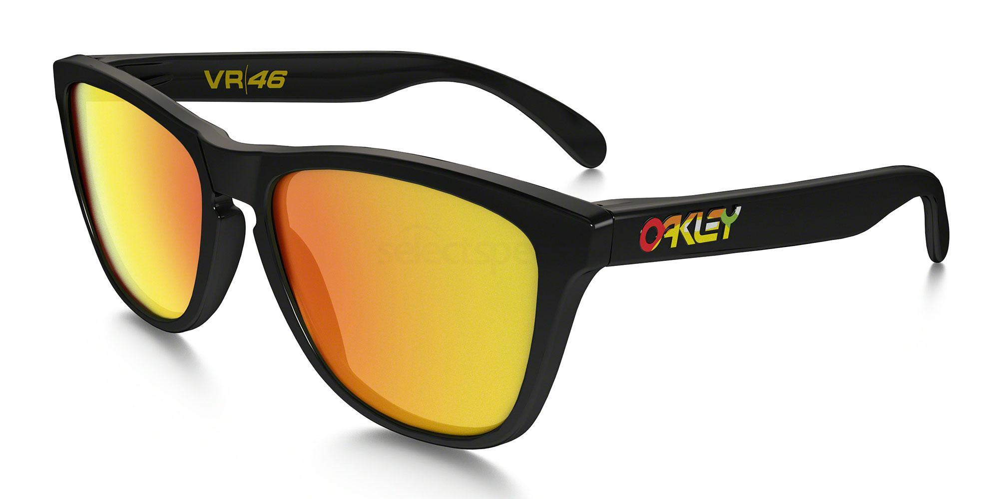 24-325 OO9013 VALENTINO ROSSI SIGNATURE SERIES FROGSKINS Sunglasses, Oakley