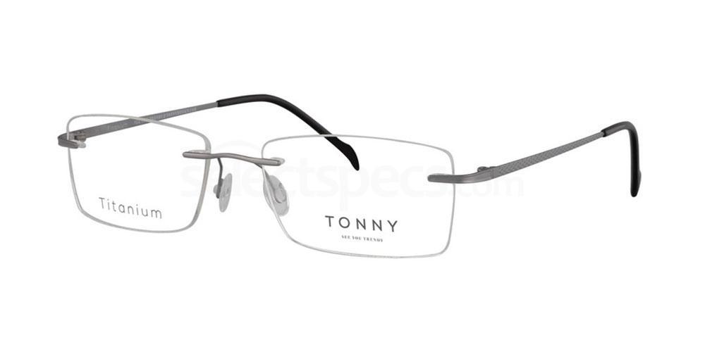 C1 TY229 Glasses, Tonny Titanium