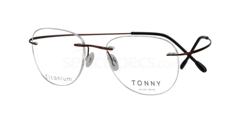 C2 TY234 Glasses, Tonny Titanium