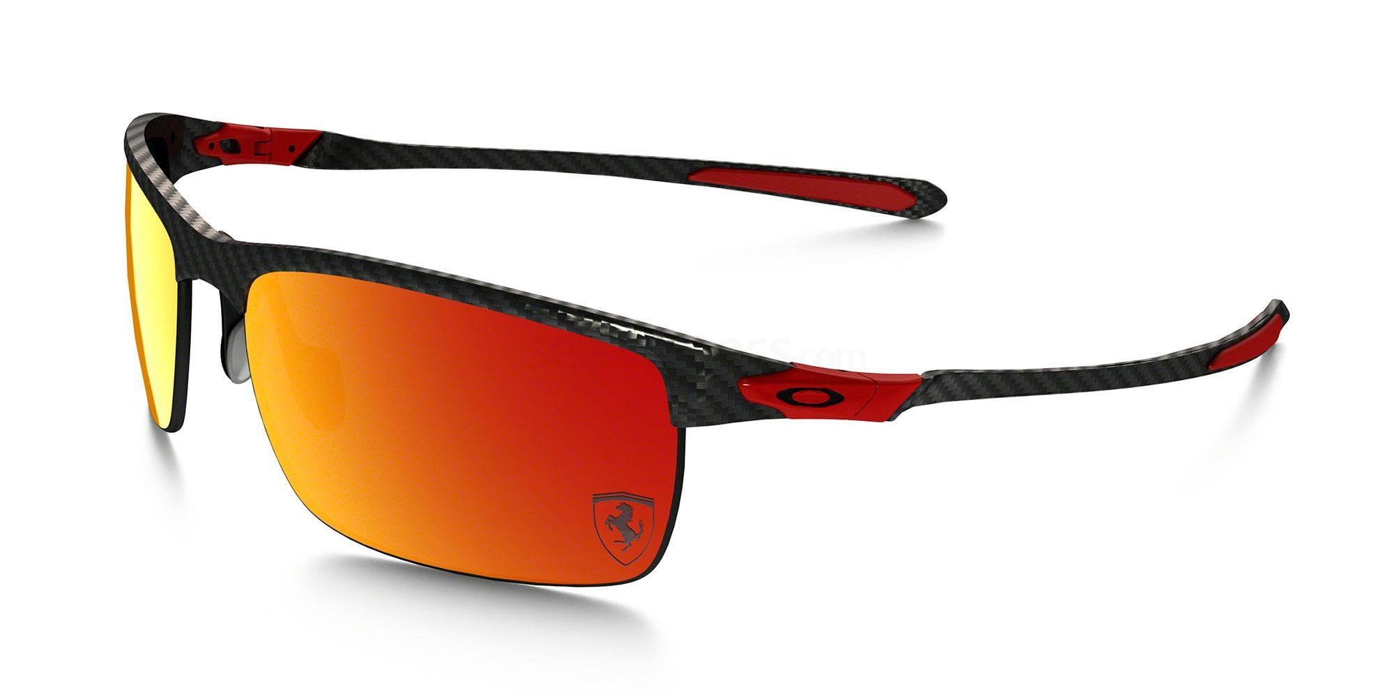 917406 OO9174 SPECIAL EDITION FERRARI POLARIZED CARBON BLADE Sunglasses, Oakley