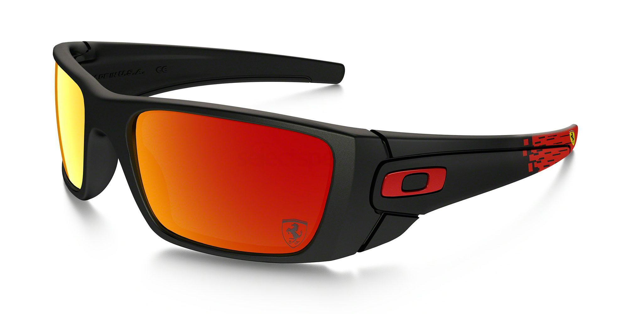 9096A8 OO9096 SPECIAL EDITION FERRARI FUEL CELL Sunglasses, Oakley