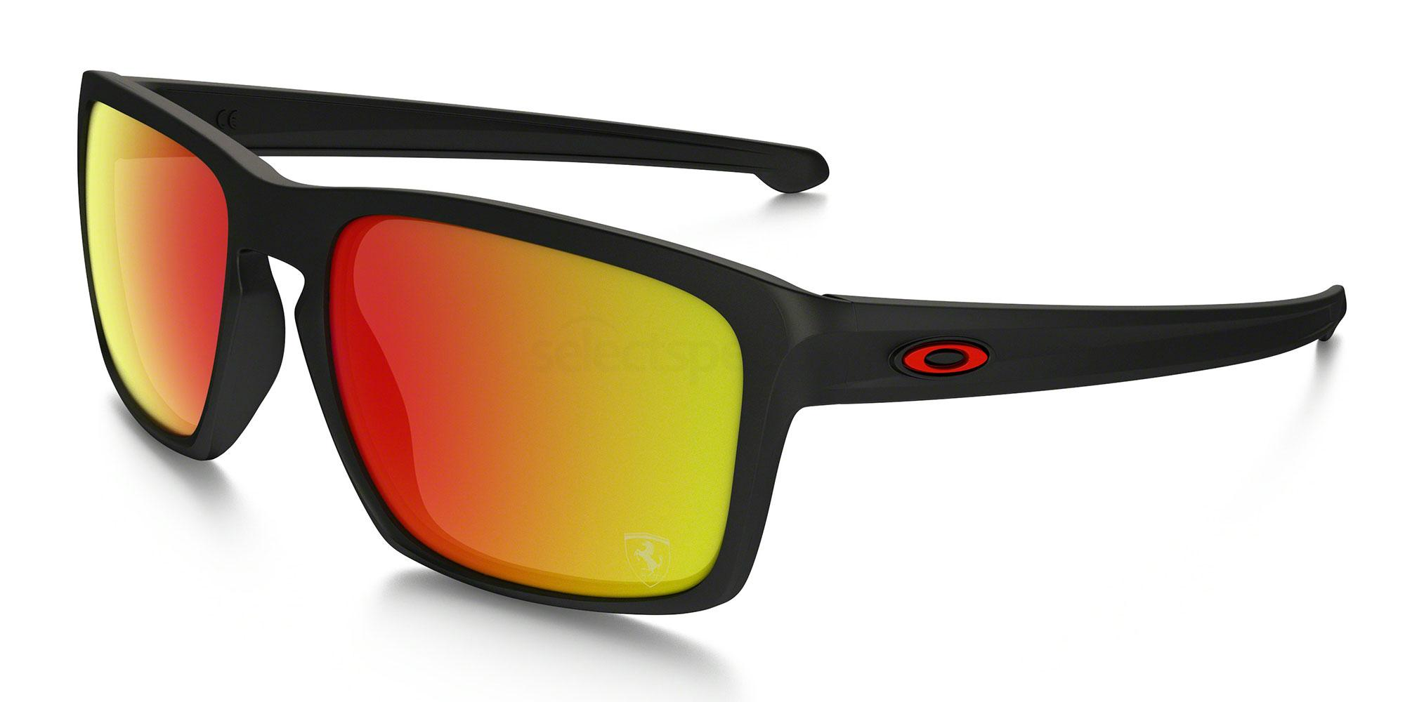 926212 OO9262 SLIVER SCUDERIA FERRARI COLLECTION Sunglasses, Oakley