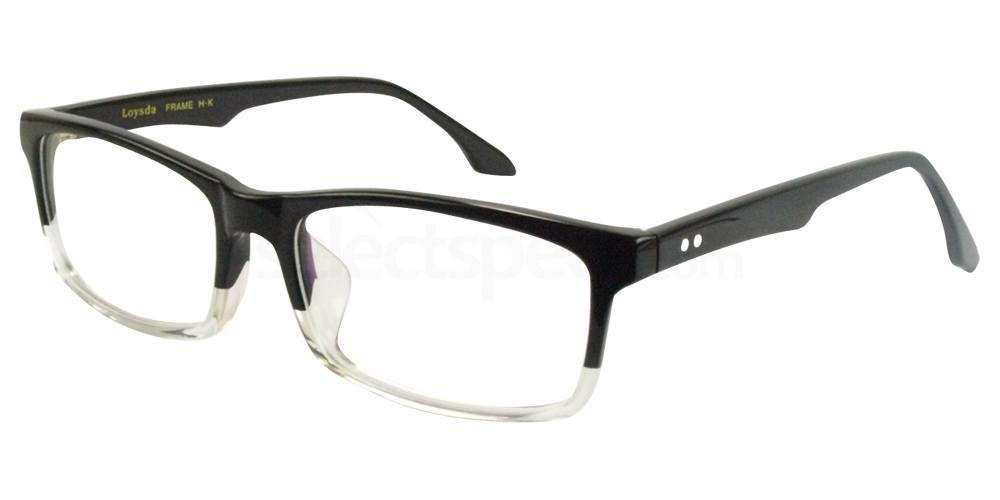 Black / Clear 8811 Glasses, Hallmark