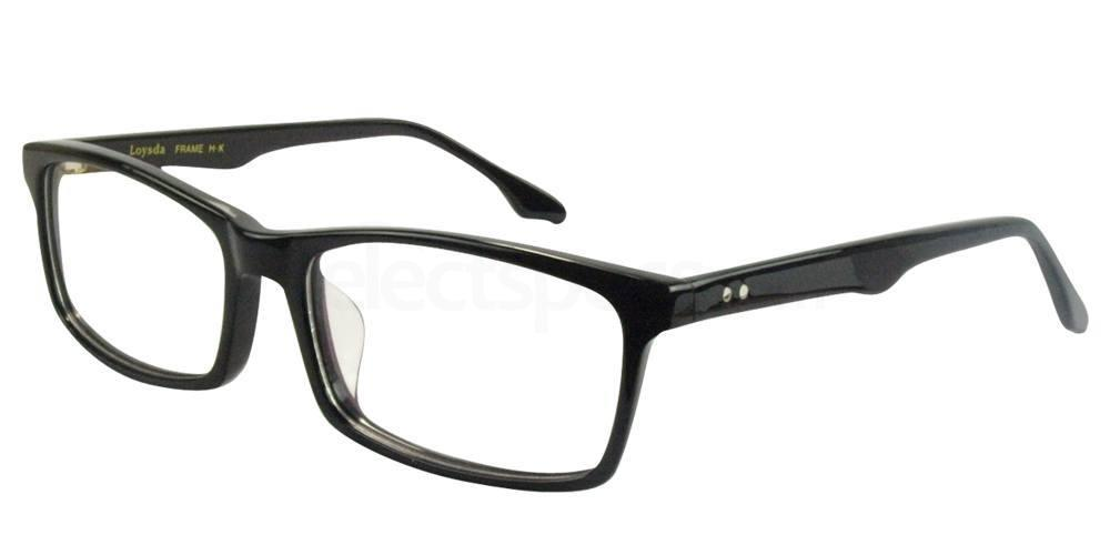 Black 8811 Glasses, SelectSpecs