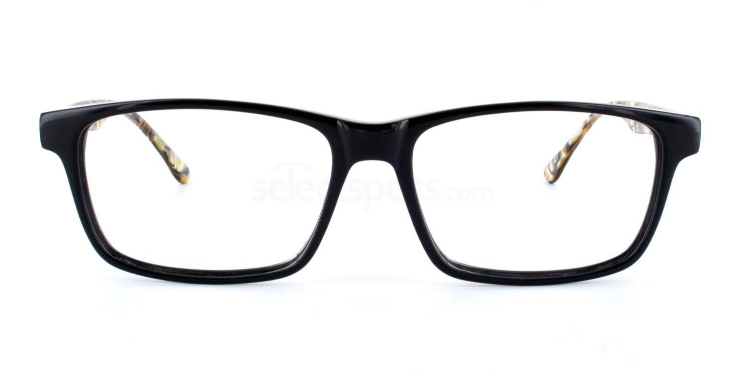 Black HY81075 Glasses, SelectSpecs