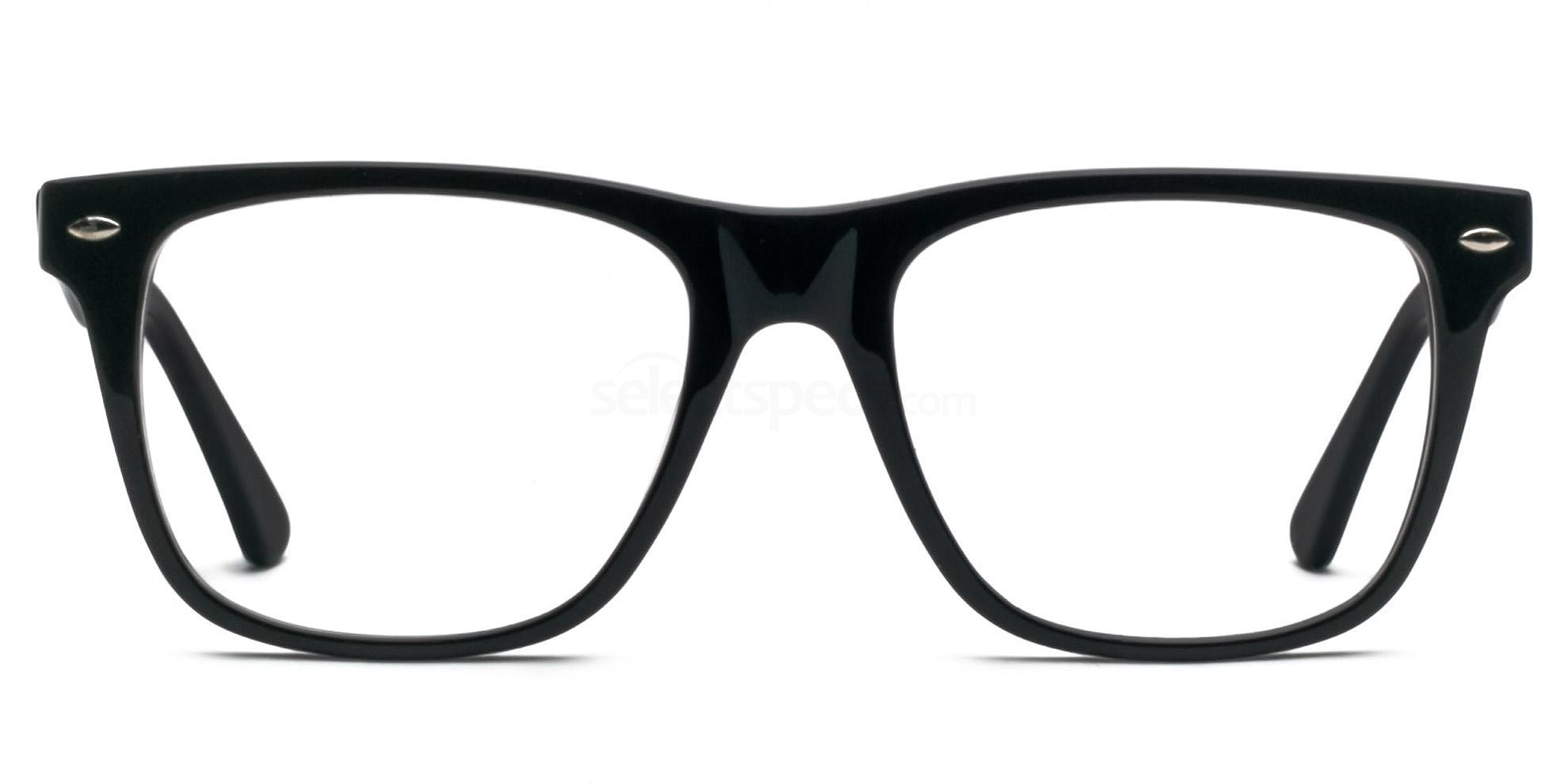 Hallmark 8812 Black framed prescription glasses
